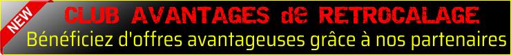 CLUB AVANTAGES PARTENAIRES RETROCALAGE