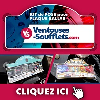 Interact Ventouses plaque rallye